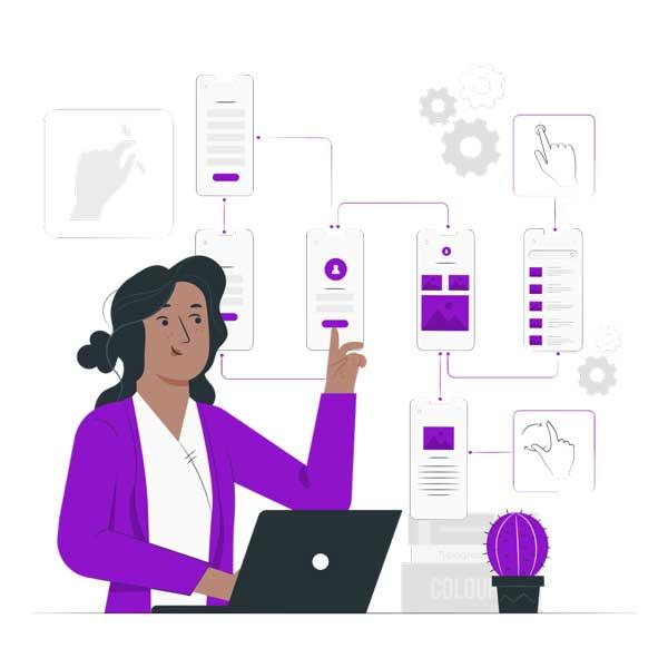 طراحی-اپلیکیشن-بازاریابی-و-ویزیتوری