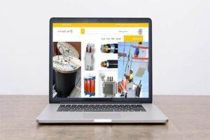 طراحی-سایت-الوند-الکتریک-لاله