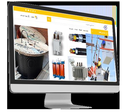طراحی-فروشگاه-اینترنتی-الوند-الکتریک-لاله1