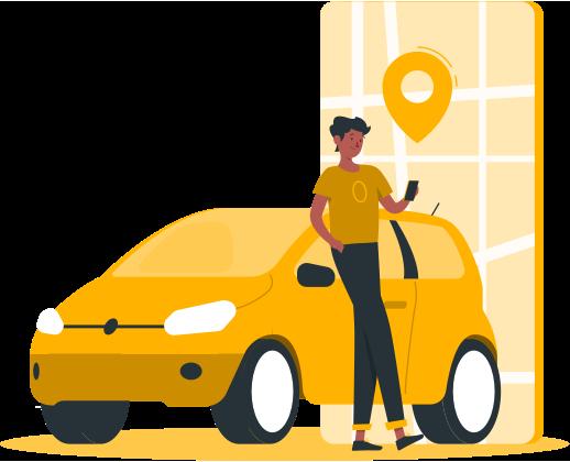 طراحی-اپلیکیشن-تاکسی-یاب